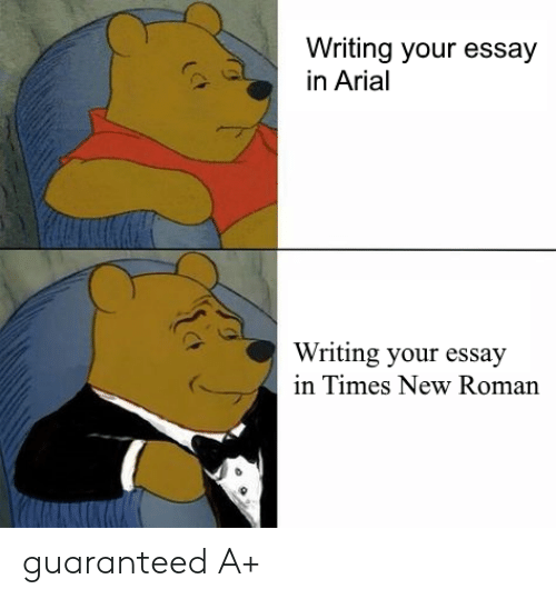 best font for essay college