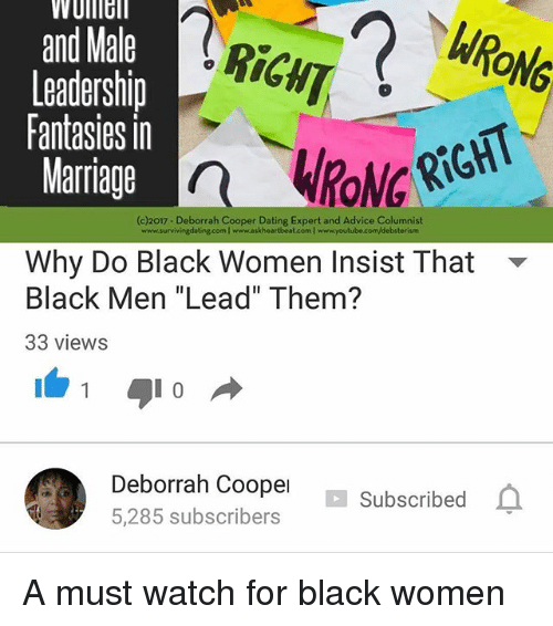 Dating a black man advice youtube