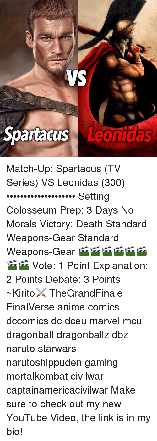ws spartacus leonidas match up spartacus tv series vs leonidas 300 16174877 ✅ 25 best memes about naruto pic naruto pic memes
