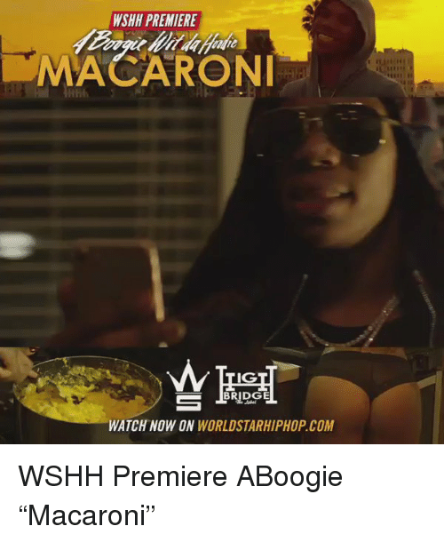 WSHH PREMIERE MACARONI IG BRIDGE WATCH NOW ON