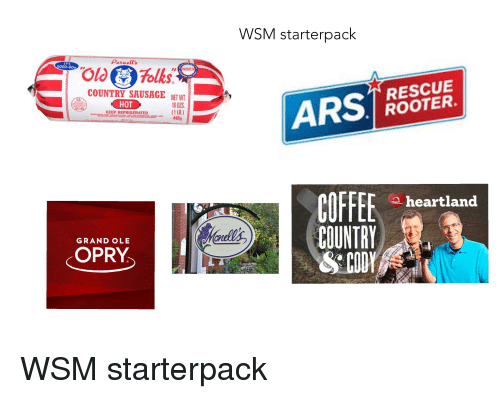 wsm starterpack purnell s it s g000 oda rescue rooter country