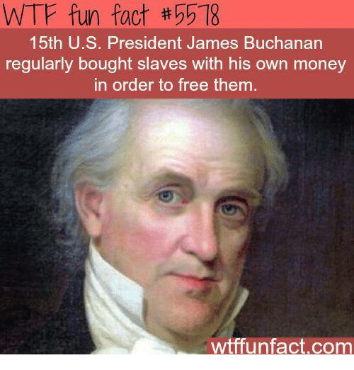 Memes James Buchanan And Fun Fact 5518 15th U S President