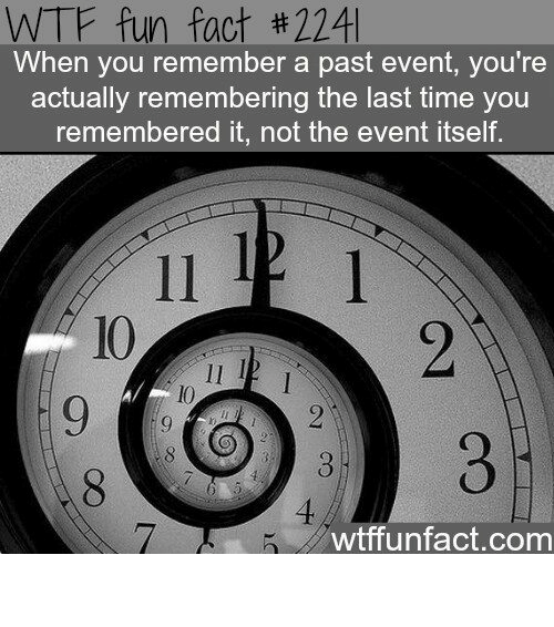 Memes, 🤖, and The Event: WTF fun fact th 224 When you remember