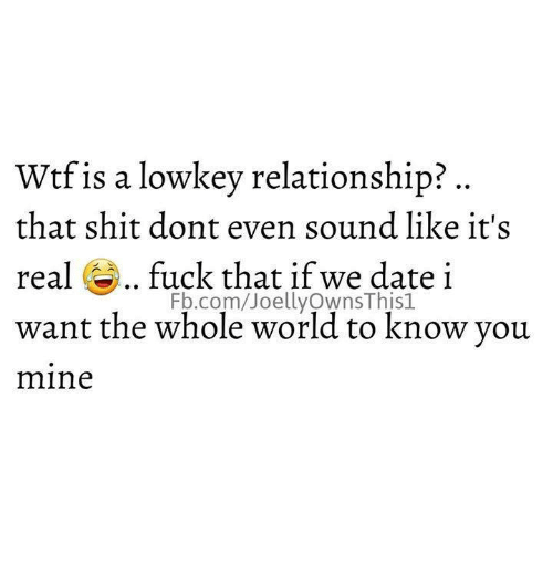 Dating Know A How Or Do Relationship In Are I If We