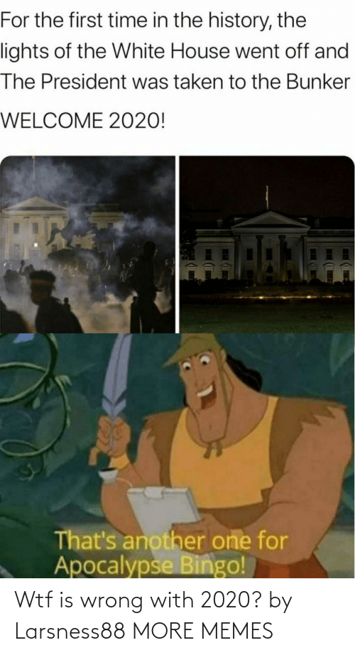 Dank, Memes, and Target: Wtf is wrong with 2020? by Larsness88 MORE MEMES