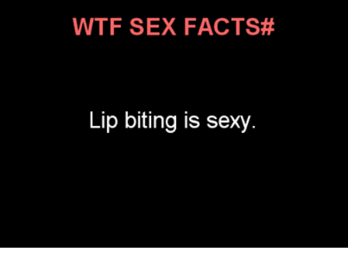 Sexy sex facts