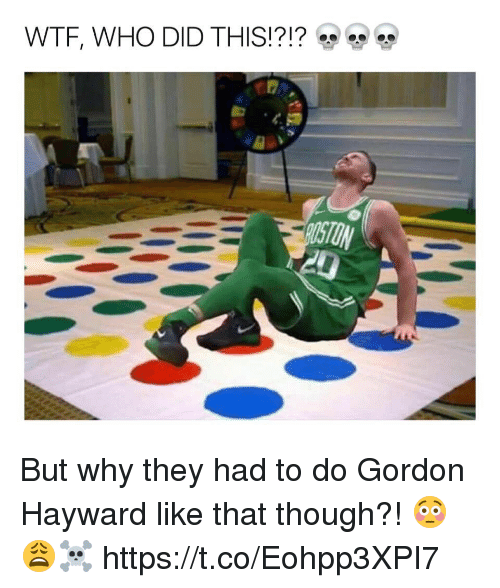 wtf who did this but why they had to do 28458261 ✅ 25 best memes about gordon hayward gordon hayward memes