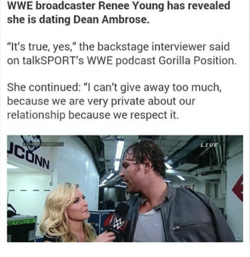Wwe dating relationships