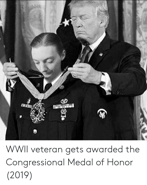 Medal of Honor, Wwii, and Honor: WWII veteran gets awarded the Congressional Medal of Honor (2019)