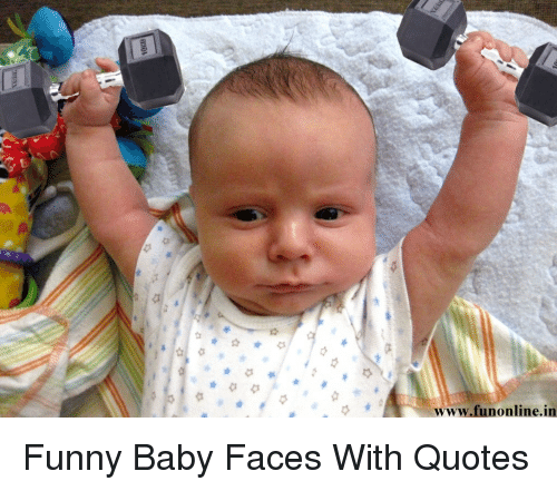 Funny Baby Face