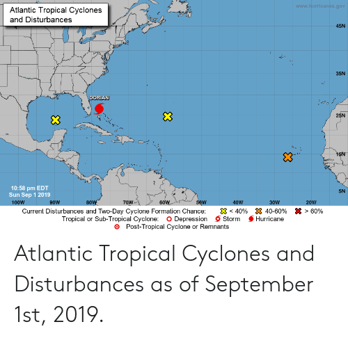 Wwwhurricanesgov Atlantic Tropical Cyclones and Disturbances ... on parks in western usa, map of parks london, island in usa, national map of usa, greetings in usa, home in usa, map nebraska in usa, map of ok usa,