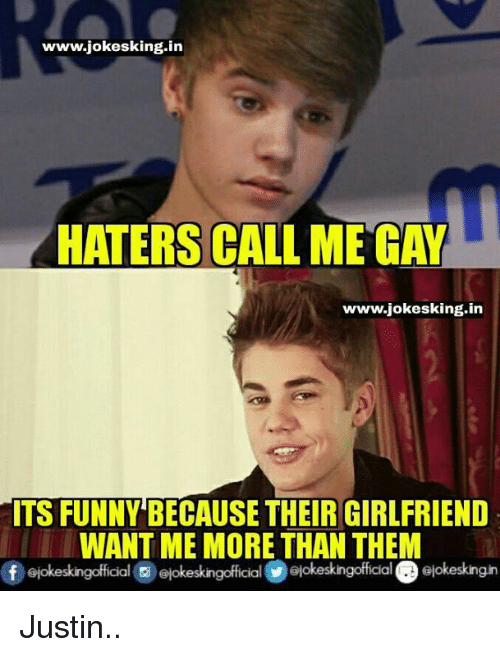 I AM GAY HATERS MEME