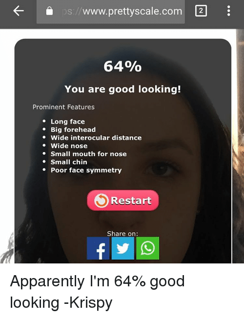 are you good looking