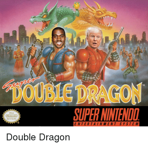 WY DOUBLE DRAGON SUPER NINTENDO TM Official Nintendo Seal of Quality