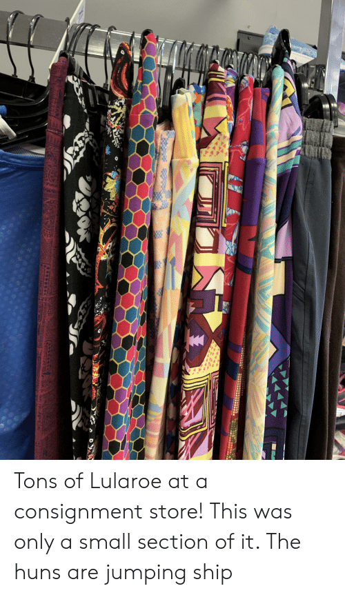 X D 1 SAUPE niibTS as Tons of Lularoe at a Consignment Store