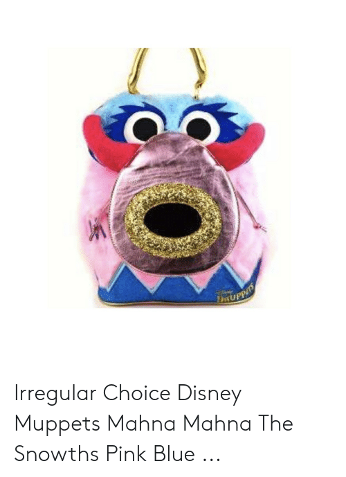 X Irregular Choice Disney Muppets Mahna Mahna the Snowths