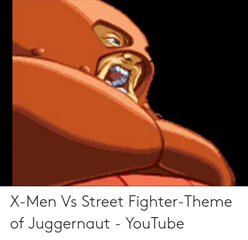 X-Men vs Street Fighter-Theme of Juggernaut - YouTube