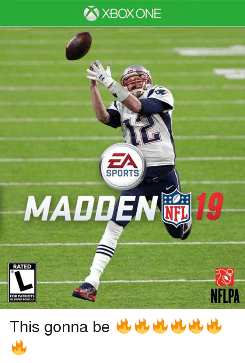 XBOX ONE ZA SPORTS MADDEN 19 RATED NFLPA FOR PATRIOTS SUPER SOW ‪This Gonna Be xd83d;xdd25;xd83d;xdd25;xd83d;xdd25;xd83d;xdd25;xd83d;xdd25;xd83d;xdd25;xd83d;xdd25;‬ NFL