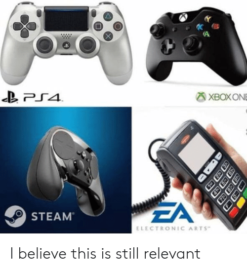 Steam, Electronic Arts, and Arts: XBOXONE  ZA  STEAM  ELECTRONIC ARTS I believe this is still relevant