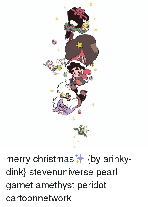 memes amethyst and xmas merry christmas by arinky dink - The Christmas Pearl