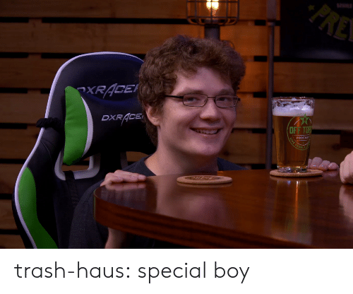 Target, Trash, and Tumblr: XRACE  DXR ACE  PODCAST trash-haus: special boy