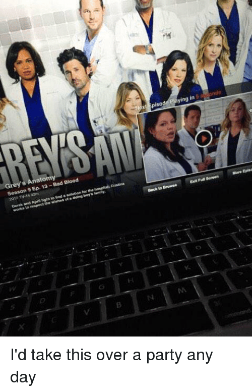 xtEpisodePlaying in and - Grey\'s Anatomy Season 9 Ep 13-Bad Blood ...