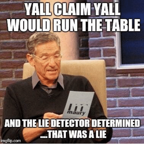 yall claim yall would run the table maury and the 22175490 ✅ 25 best memes about nights with you nights with you memes