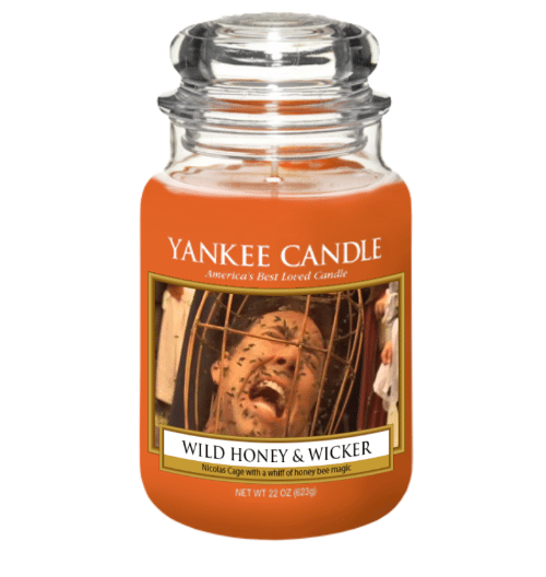 YANKEE CANDLE 1merica S Best Loted Candle WILD HONEY ...