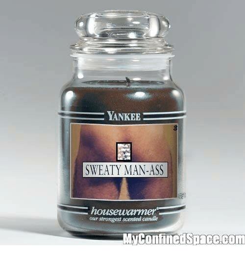 Woman into ass scent