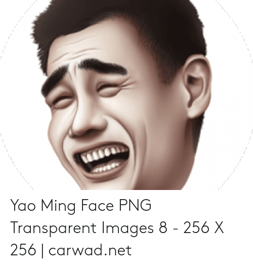 Yao Ming Face PNG Transparent Images 8 , 256 X 256