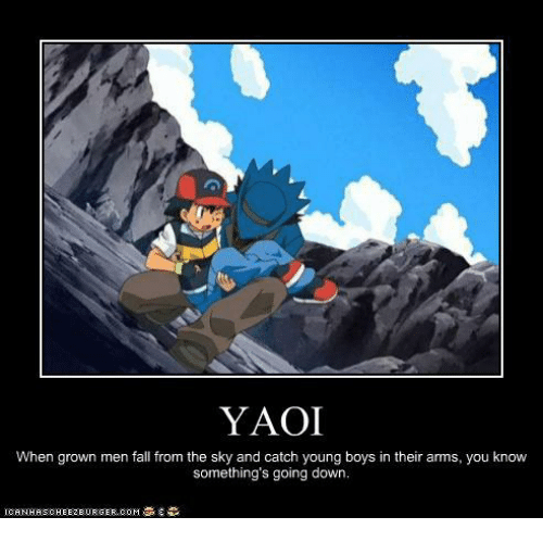 YAOI When Grown Men Fall From the Sky and Catch Young Boys ...