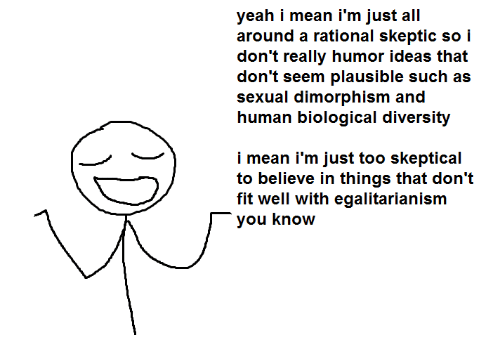 yeah i mean i m just all around a rational skeptic so i don t really