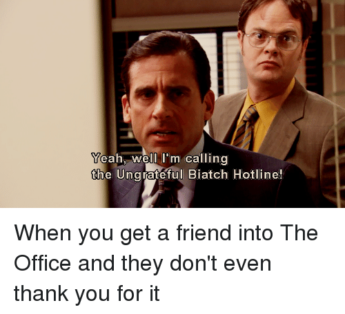 thank you the office