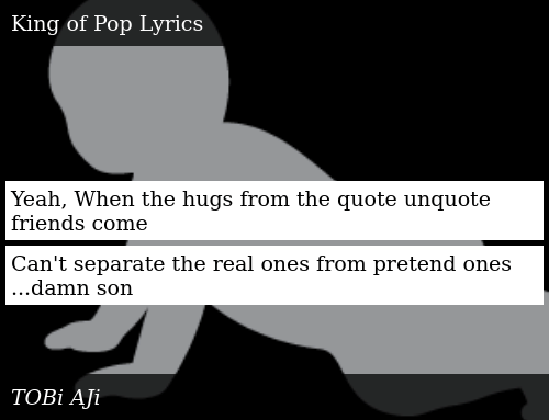 Yeah When The Hugs From The Quote Unquote Friends Come Cant