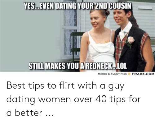 Like speed dating a cousin smh