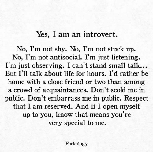 how to know if you are an introvert