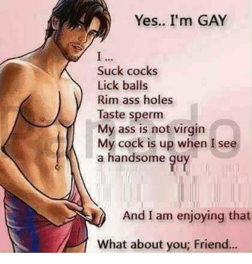 Balls in ass gay