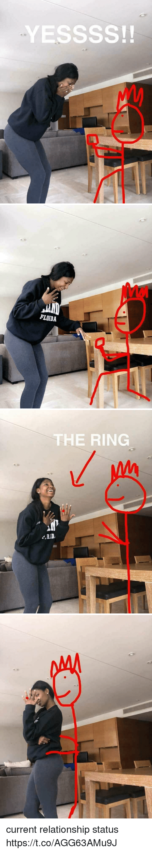 The Ring, Girl Memes, and Relationship Status: YESSSS!!   FLOIDA   THE RING  RID current relationship status https://t.co/AGG63AMu9J