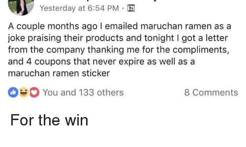 compliments for couple on facebook