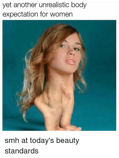 30 hilarious memes for everyone sick of unrealistic beauty standards.