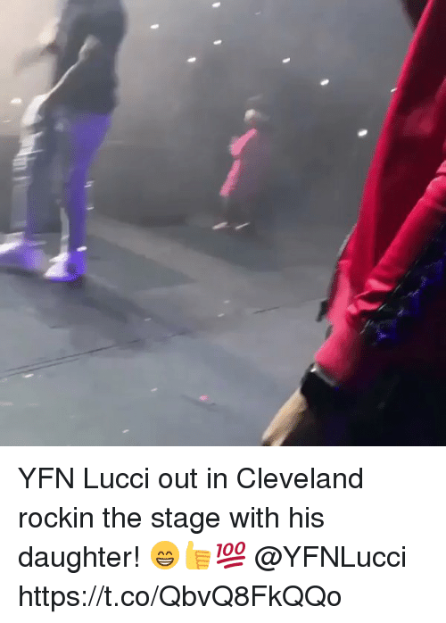 YFN Lucci Out in Cleveland Rockin the Stage With His