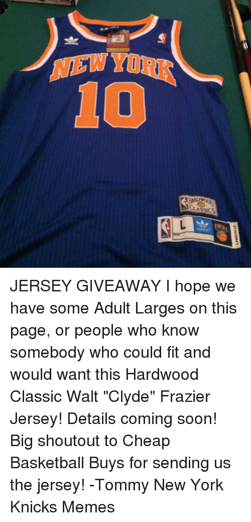 cheap for discount ee976 d9d84 YI ASSICS JERSEY GIVEAWAY I Hope We Have Some Adult Larges ...