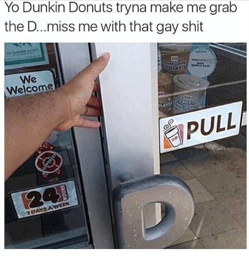 Dunkin donuts gay rights