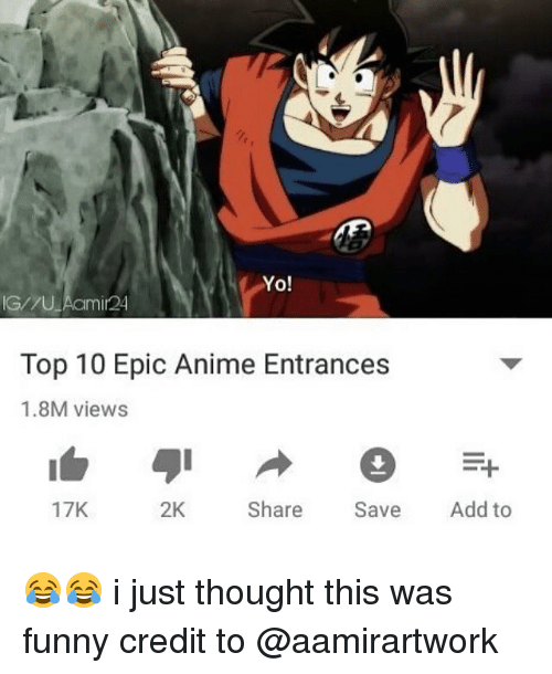Anime Funny And Memes Yo G U Aamir24 Top 10