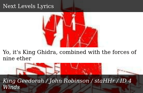 Yo It's King Ghidra Combined With the Forces of Nine Ether | Donald