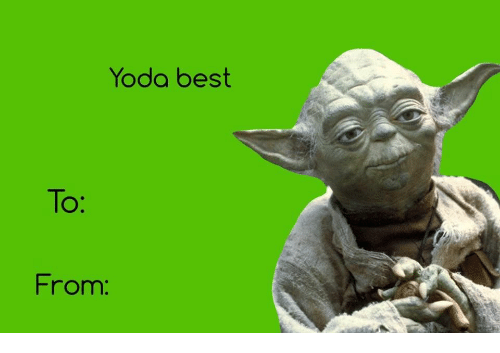 Yoda Best to From | Yoda Meme on ME ME