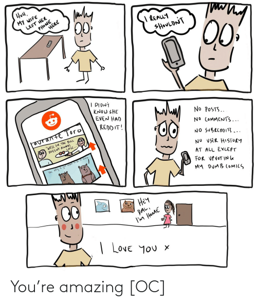 Amazing and You: You're amazing [OC]