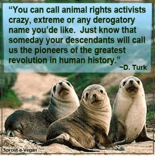 Animal Rights Activists and Organizations – Speaking of ...