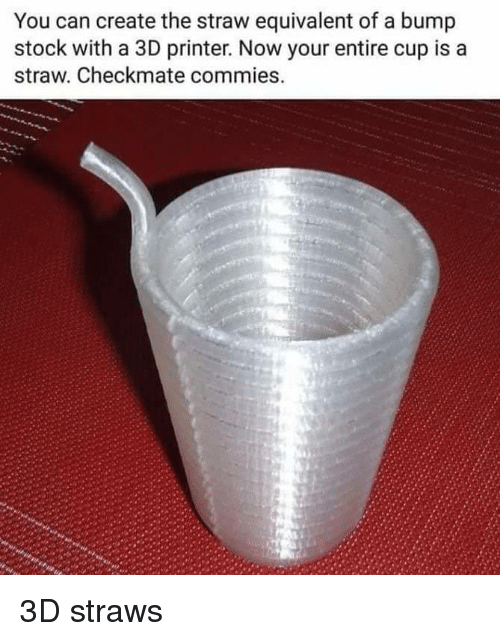 You Can Create the Straw Equivalent of a Bump Stock With a