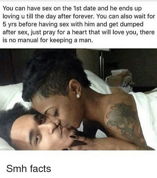 Can a man love before sex